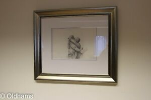 Superb Framed Jeff Rowland - Original Pencil Sketch - Signed