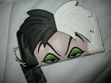 Disney Loungefly Cruella de Vil wallet New with tags Shipping free