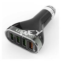 Cargador Coche 4USB 6.6A + Cable Micro USB para HUAWEI HONOR 9 LITE d329/v191