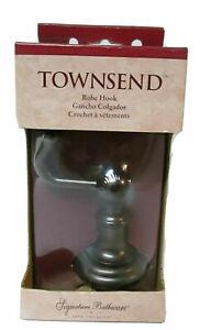 Venetian Bronze Finish ROBE HOOK Townsend  63695 NOS Rd Desc. Bathroom Fixture
