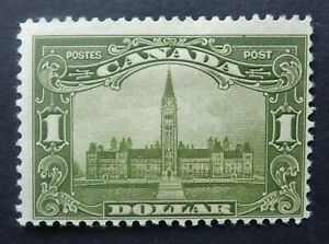 """CANADA  #159 H* """"Parliament Buildings"""" cat.$250 CAN.SHIP $1.99 COMBINED SHIPPINg"""