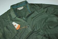 Tommy Bahama Polo Shirt Sedona Cedar Green BT27654 LS New XX-Large Tall  2XT