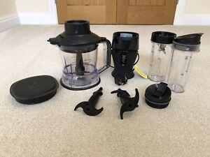 Nutri Ninja 2 In 1 Food Processor And Smoothie Maker 700W