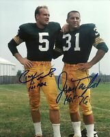 PAUL HORNUNG / JIM TAYLOR Signed Autographed 8 x 10 Photo ( PACKERS HOF )REPRINT