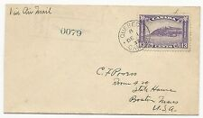 Canada Scott #201 Tied on First Day Cover Air Mail Quebec December 1, 1932