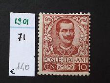 1901 - REGNO - 10 CENT. MH