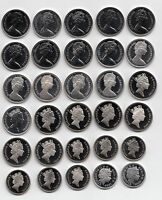 UK PROOF Ten Pence Coins 10p 1971 to 2018 - Choose your Year