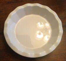 "Emile Henry Williams Sonoma 10"" Ruffled Deep Dish Pie Plate Green, Looks New"