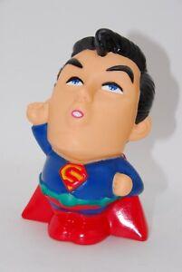 90's Superman Caricature Cartoon Figure Moneybox DC Comics Superhero