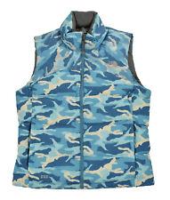 Women's North Face Nuptse Style Annapurnas 550 Down Camo Vest Jacket L New