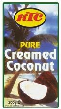 12 x pride creamed coconut packs, - chinois, indien, eastern asiatique cuisine au curry