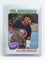 1975-76 Glenn Resch #145 New York Islanders OPC O-Pee-Chee Hockey Card I132