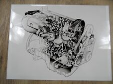Zeichnung FORD 1,8 Liter DOHC 16 Ventil Motor 1/92 SR1017