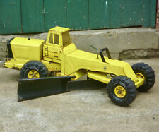 Vintage Tonka Toy Road Grader Metal Tin Truck Tractor Retro Old 1970s Bulldozer