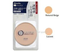 "JAPAN Kanebo media Pressed Powder AA ""Refill"" 6g SPF17 PA+ / Color Natural Beige"