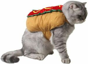 Dog Costumes Funny Halloween Clothes for Pet Dogs Puppy Cats Clothing Hot Dog