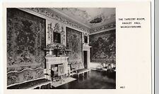 Worcestershire; The Tapestry Room, Hagley Hall RP PPC, Unposted, By Fry & Co