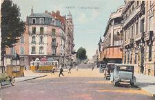 NANCY place saint-jean voitures tramway timbrée 1934