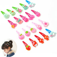 20pcs Multi-style Cartoon Baby Kids Girls HairPin Hair Clips Accessories Gifts