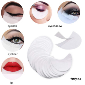 Disposal EyeShadow Shields Patches Stickers Pads Eyes Eyeliner Shield Guide