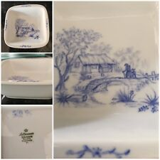Vintage Dish Hand Painted Bavarian Signed SB 99 Seltmann Weiden West Germany