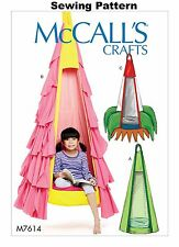 McCalls M7614 Crafts PATTERN - Kids Hanging Seat - OSZ - New