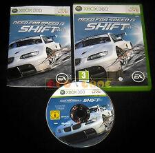 NEED FOR SPEED SHIFT XBOX 360 Versione Italiana 1ª Edizione ••••• COMPLETO