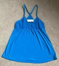 Gilly Hicks Blue Ladies Vest Top XS Great Condition