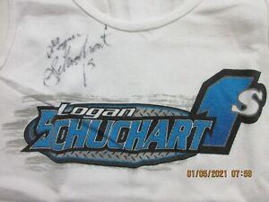 Sprintcar Logan Schuchart Women Tank Top Shark Allen WoO Outlaws PA Posse SIGNED