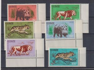 Republique de Guinee: Nr. 128-133 ** postfrisch (Tiere Afrikas)