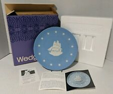 """Antique Wedgwood - America's Heritage Plate Collection """"The West - By Sea"""" Ship"""
