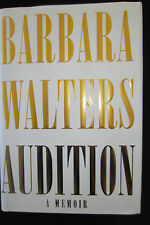 Audition by Barbara Walters SIGNED