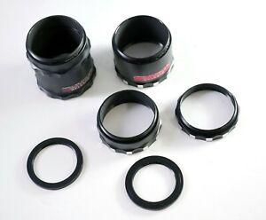 Questar telescope Extension Tube Set. (three pieces, plus 2 insert rings)