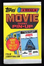 Unopened Pack 1981 Topps Real Movie Giant Pin-up Poster