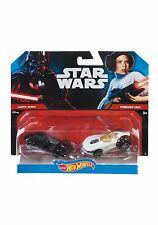 Hot Wheels Disney Star Wars 2 Pack Darth Vader & Princess Leia