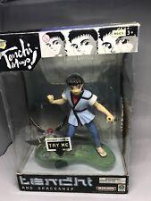 Tenchi Muyo Anime Light up Figure Tenchi  & Spaceship Working