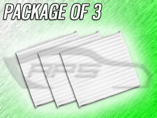 C25851 CABIN AIR FILTER FOR VIBE LEGACY OUTBACK COROLLA PACKAGE OF 3