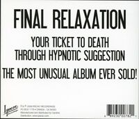 THE GOLDING INSTITUTE - FINAL RELAXATION   CD NEW