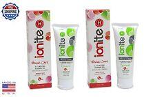 2 TUBES Ionite 1.1% Neutral Sodium Fluoride Gel Toothpaste MINT - 4.3oz