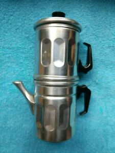 Vintage Expresso 1 Cup Coffee Pot Italy Nice