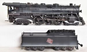 ✅WEATHERED WEAVER W/ LIONEL TMCC MILWAUKEE ROAD F6a 4-6-4 BALTIC STEAM ENGINE!