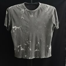 Distressed Vtg Basic faded Worn work Stained Baggy T Shirt Boxy Thrashed 23x27
