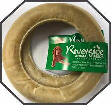 Raw Hide Dog Chew Ring 150mm 6 Inch Pet Treat
