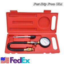 Compression Tester Kit Auto Car Petrol Gas Engine Cylinder Pressure Gauge Tester