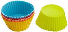 "Casabella Standard Silicone 3"" Muffin / Cupcake Cups - Set of 6"