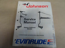 1989 Johnson Evinrude Electric Outboar Service Manual WATER DAMAGE