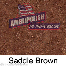 5 GL. SADDLE BROWN CONCRETE COLOR DYE 4 CEMENT, STAIN AMERIPOLISH Surelock color