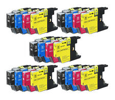 20 Pack LC75 LC71 Set Ink Cartridges for Brother MFC-J435W MFC-J625DW MFC-J825DW