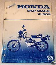 1985 HONDA XL80S XL80 XL 80 Motorcycle Factory Dealer Shop Service Repair Manual
