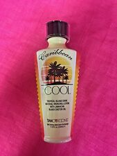 Ed Hardy CARIBBEAN COOL Natural Bronze Tanning Lotion Tanovations 100% Authentic